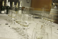 Test av champagneprovning som upplevelse
