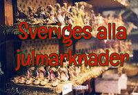 Sveriges alla julmarknader