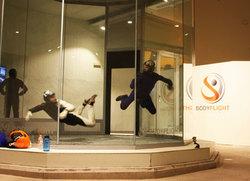 Test av upplevelse: BodyFlight - vindkammare i Stockholm