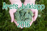 Årets Julklapp 2016: Ekologiska julklappar