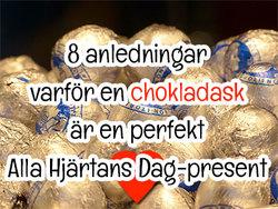 8 anledningar varför en chokladask är den bästa Alla Hjärtans Dag-presenten