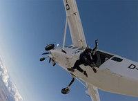 Hoppa fallskärm - en bra upplevelsepresent även för pensionärer