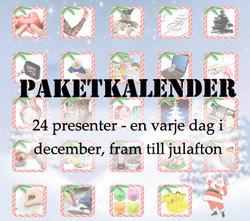 Paketkalender - en bra adventspresent