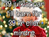 39 julklappar till barn för 39 kr eller mindre