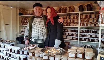 Foto från Skansens julmarknad