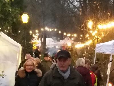 Foto från Julmarknad i Sinnenas Park