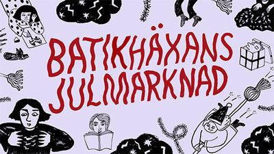 Foto från Batikhäxans julmarknad