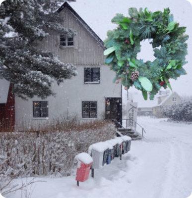 Foto från Julmarknad på Köpmangården i Eljaröd