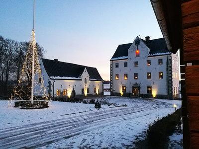 Foto från Jul vid Salnecke slott