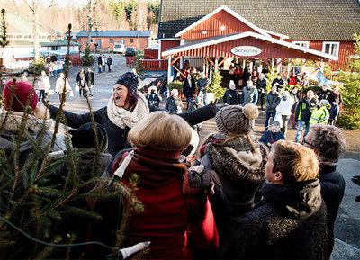 Foto från Kärrasand Julmarknad