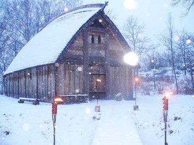 Foto från Traditionell julmarknad på Ale Vikingagård