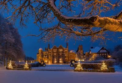 Foto från Julmarknad på Tjolöholms Slott