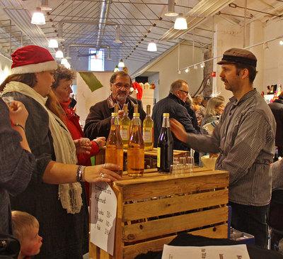 Foto från Julmarknad i Dalslands Center