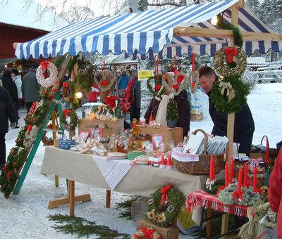 Foto från Högbo julmarknad