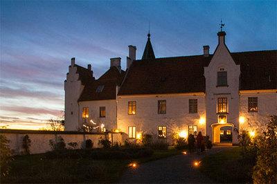 Foto från Skånska Juldagarna på Bosjökloster Slott