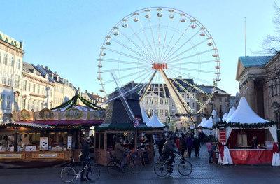 Foto från Julmarknaden på Kongens Nytorv