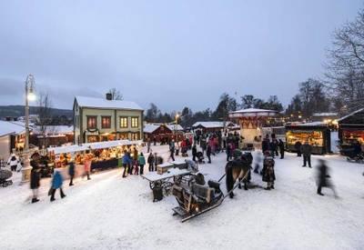 Foto från Jamtli Julmarknad