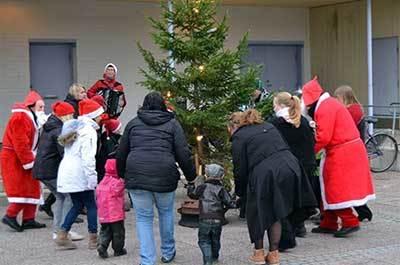 Foto från Lions julmarknad i Klintehamn