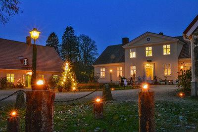 Foto från Skånejul på Hässleholmsgården