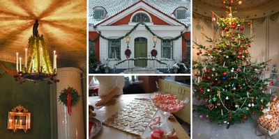 Foto från Jul på Katrinetorp