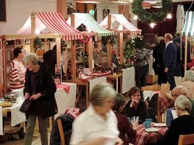 Foto från Julmarknad på Katolska Kyrkan i Malmö