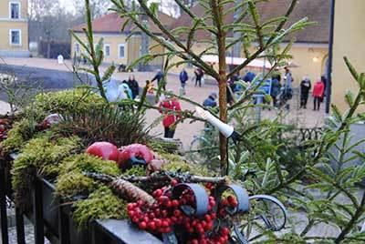 Foto från Julmarknad på Vadsbo Museum