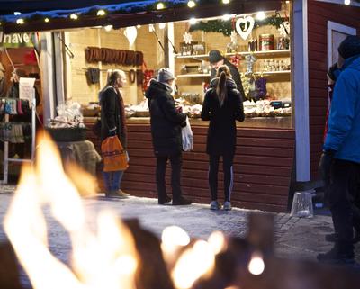 Foto från Umeå Julmarknad