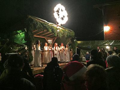 Foto från Julmarknad på Strömsberg