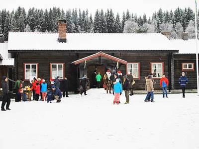 Foto från Julmarknad i Sälens by