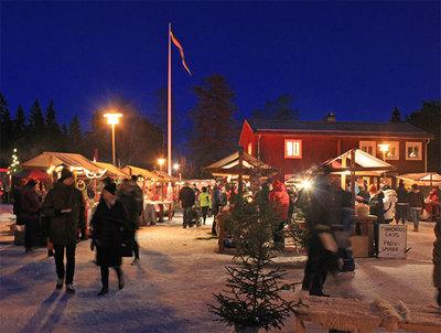 Foto från Norra Bergets julmarknad