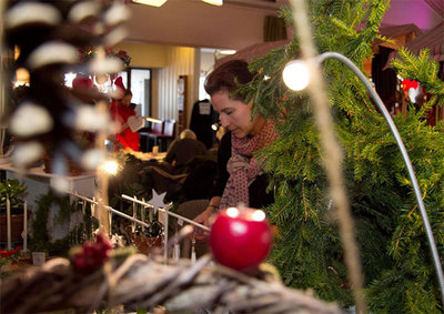 Foto från Julmarknad i Hågaby