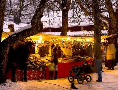 Foto från Sätra Brunns julmarknad