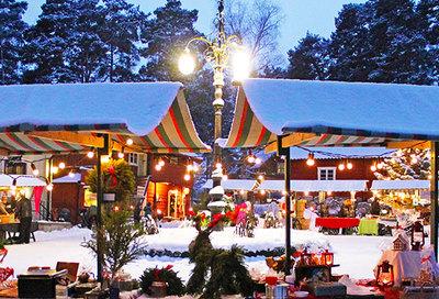 Foto från Jul på Vallby