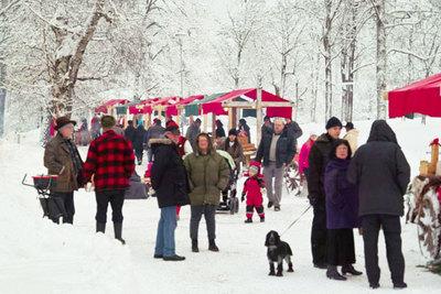 Foto från Julmarknad på Kustleden