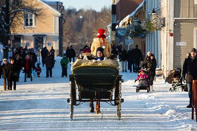 Foto från Nora Julmarknad