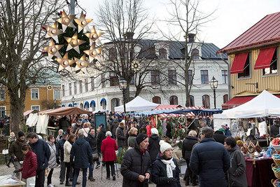 Foto från Julmarknad i Trosa