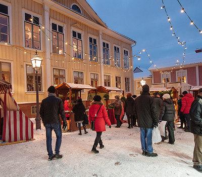 Foto från Eksjö Julmarknad