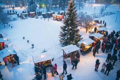 Foto från Julmarknad på Norrbottens Museum