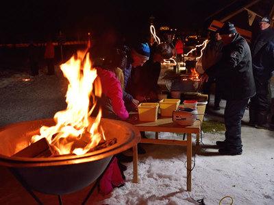 Foto från Julmarknad med Hede Hembygdsförening