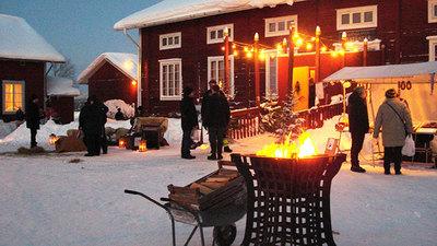 Foto från Julmarknad på Stenegård i Järvsö