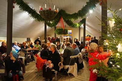 Foto från Ostbitens Julmarknad