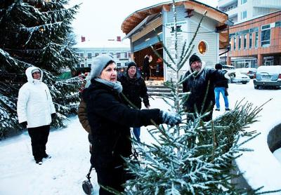 Foto från Julmarknad och kröning av Filipstads Lucia