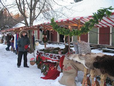 Foto från Julmarknad på Kulturcentrum Berget
