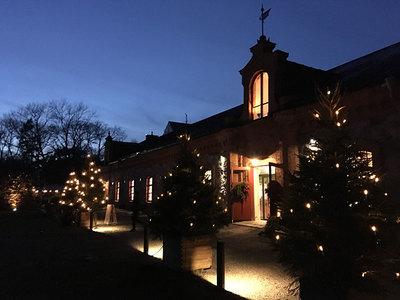 Foto från Steninge slotts julmarknad