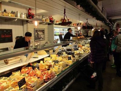 Foto från Julmarknad på Falbygdens Osteria