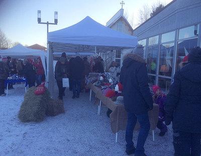 Foto från Storvretas julmarknad
