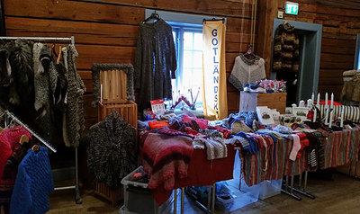 Foto från Julmarknad på Farsta Gård