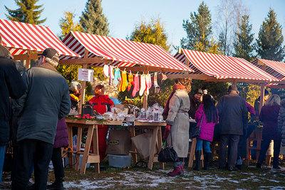 Foto från Julmarknad på Klingstagården