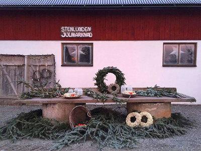 Foto från Stenlundens Julmarknad