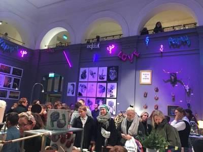 Foto från à la London juldesignmarknad Göteborg